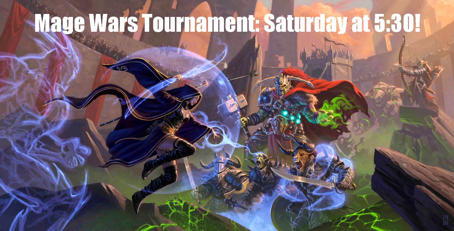 Mage Wars Tournament Wandering Dragon Game Shoppe